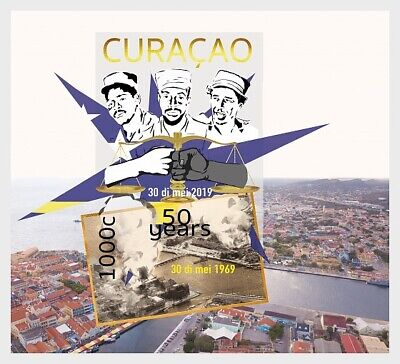 Curacao - Postfris/MNH - Sheet 50 years Commemoration 2019