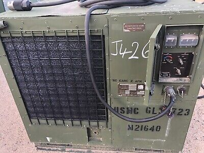 6 Complete Nordic Air 3 Ton Military A/C Air Conditioner Heater Units