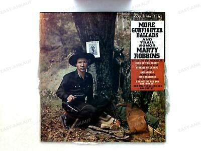 Marty Robbins - More Gunfighter Ballads And Trail Songs CAN LP 1960 .