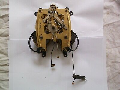 Mechanism  From An Old 31 Day  Wall Clock Spares/Repair Ref An43