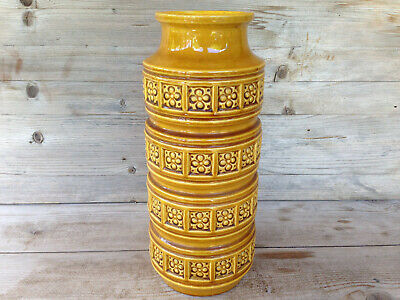 SCHEURICH Vase / Midcentury Vintage West-Germany Pottery / sign 268 size 30