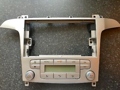 FORD S MAX Galaxy A/C Air Con Climate Control Panel + Surround 2006-2010