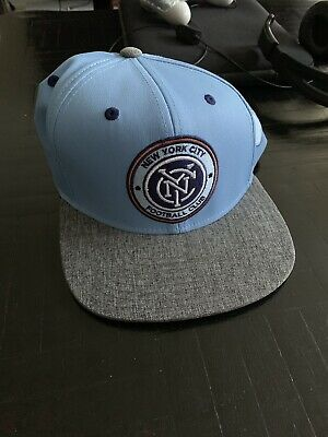 100% authentic 495de fc4d4 New York City FC adidas MLS Skyline Snapback Cap, Hat, Map NYC (Official