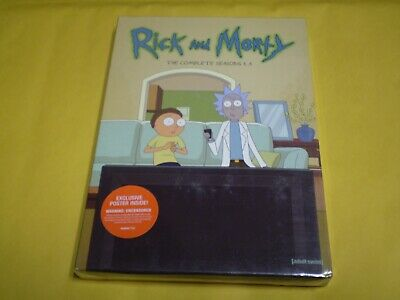 Rick and Morty: The Complete Season 1-3  (DVD Set, 2018)   Brand NEW