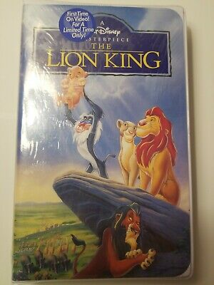 Walt Disney The Lion King VHS 1995 New Sealed Free Ship