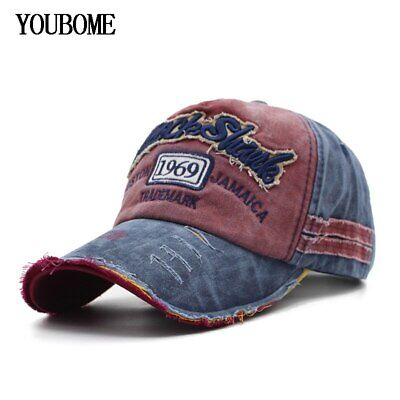 Baseball Cap Hats For Men Women Brand Snapback Caps MaLe Vintage Washed AKIZON