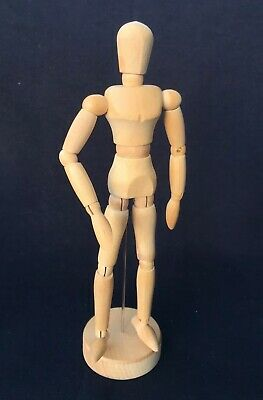"Artists Modeling Manikin, 8"" Human Form Drawing Model Wood Figure Mannequin NEW"