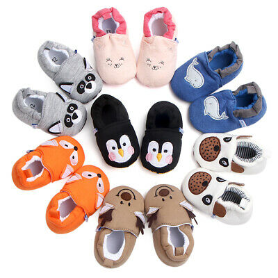 Baby Shoes Infant First Walkers Cartoon Crib Shoes  Loafers Toddler Slippers