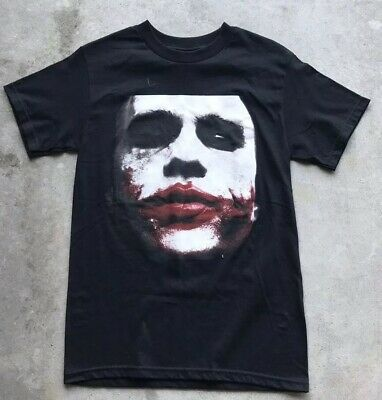 63b5c66c2 NWT ECKO JOKER Batman T-Shirt Heath Ledger Dark Knight Size Small ...
