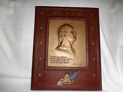Plaque Bust of George Washington, Jean Antoine Houdon, by the J K Smith Company