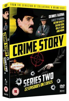 Crime Story - Series Two Boxset [DVD] - DVD  44VG The Cheap Fast Free Post
