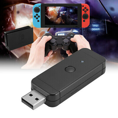 HOT USB Gaming Controller Converter Adapter for Nintendo Switch PS3 PC AC1241