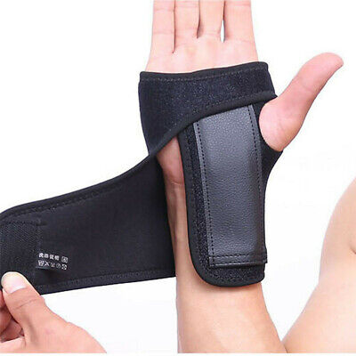 Adjustable Wrist Hand Brace Palm Support Carpal Tunnel Tendonitis Splint Band