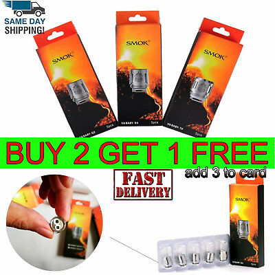 SMOK² TFV8 Baby/ Big Baby Beast Replacement Coils² for V8 Baby T8 Q2 T6 X4 Mesh