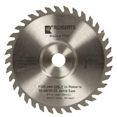 6-3/16 in. 36 Tooth Carbide Tip Saw Blade for 10-56 Jamb Undercut Circular Saws