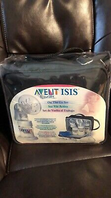 Avent ISSIS On The Go Breast Pump And Nurser Kit