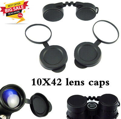 Lens Caps Binoculars Objective Protective Rubber Cover Eyepiece Dust Suit Prof