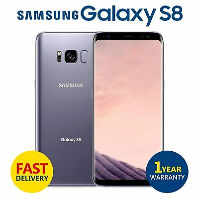 SAMSUNG GALAXY S8 64GB Unlocked 4G Android Mobile Phone Orchid Grey