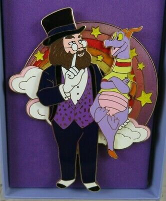Disney WDCC Pin - Imaginary Friends - Figment and Dreamfinder - Jumbo Epcot