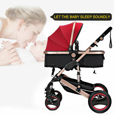 2 In 1 Foldable Baby Stroller Newborn Carriage Travel Pram Pushchair New