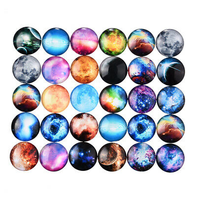 10Pcs 20mm Life Tree Glass Dome Cabochon DIY Accessories Dome Flatback Findings