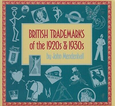 BRITISH TRADEMARKS of the 1920s & 1930s advertising art deco history