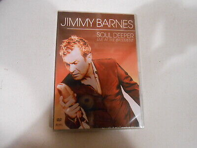 Jimmy Barnes-Soul Deeper-Live At The Basement-Dvd-New-All Regions-Australia-2001