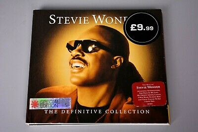 CD Album: Stevie Wonder - the Definitive Collection - Special Edition Issue