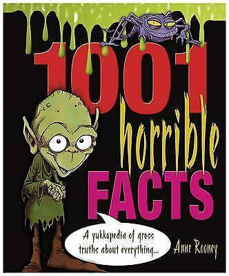 """""""VERY GOOD"""" 1001 Horrible Facts, Anne Rooney, Book"""