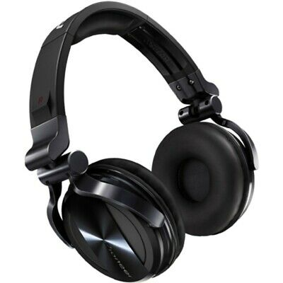 Pioneer HDJ-1500K Prof DJ Headphones with Soundproofing Technology Chrome-Black