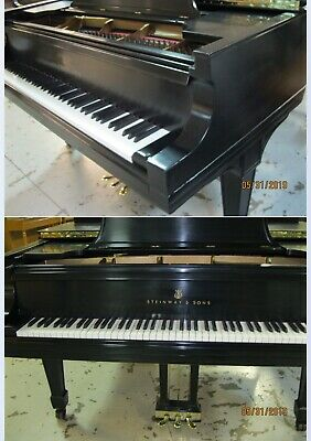 Beautiful Fully Rebuilt Steinway & Sons Concert Grand Model D Piano
