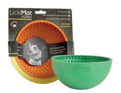 LickiMat Wobble Slow Feeder for Dog or Cat Boredom Buster Soothing