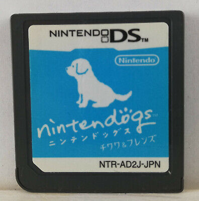 Nintendogs: Chihuahua & Friends-2005-NTR-AD2J-JPN-Nintendo DS-Japan Import
