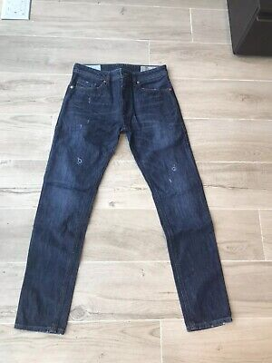 6d841783 MEN DIESEL JEANS Thommer 683T Slim Skinny Black Size 29/32 - $226.19 ...