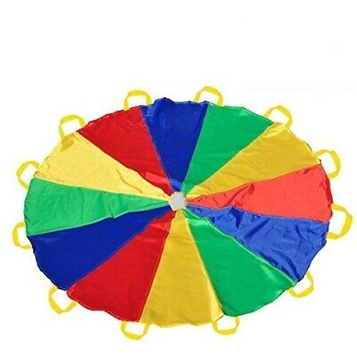 Giant Parachute Rainbow 10FT Outdoor Party Activity Sport Day Game