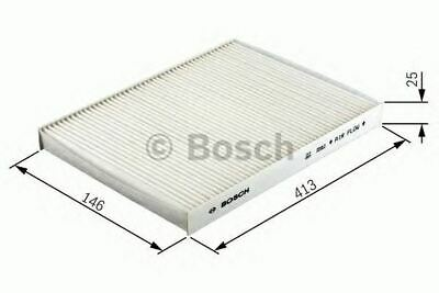 Engine Cabin / Pollen Filter Oe Quality Replacement Bosch 1987432030
