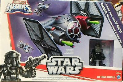 Star Wars Galactic Heroes Tie Fighter And Pilot Figure