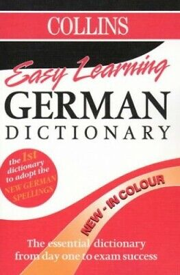 Collins Easy Learning German Dictionary (Collins Easy Le... by Collins Paperback