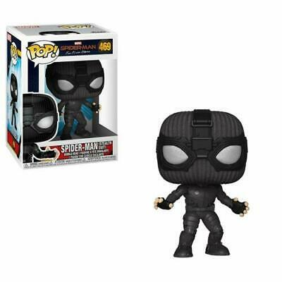 FUNKO Pop Marvel SPIDER-MAN Far From Home STEALTH SUIT #469 W/ Pop Protector