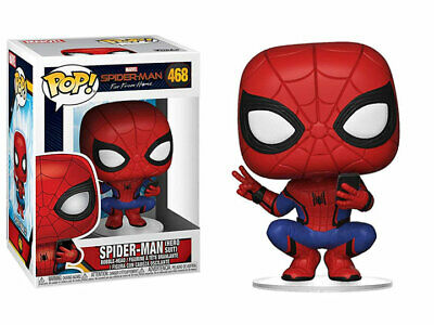 Funko POP! Marvel Spider-Man Far from Home Spider-Man (Hero Suit) w/Protector