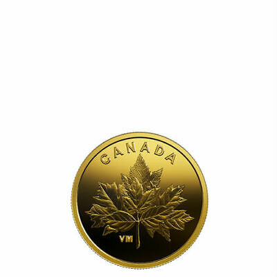 Bouquet Of Maple Leaves – 2019 25-Cent Pure Gold Coin – Royal Canadian Mint