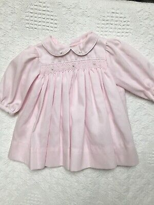 27f5281c8 PETIT AMI PREEMIE SMOCKED 3PC PINK TAKE ME HOME DRESS~NWT'S~reborn ...