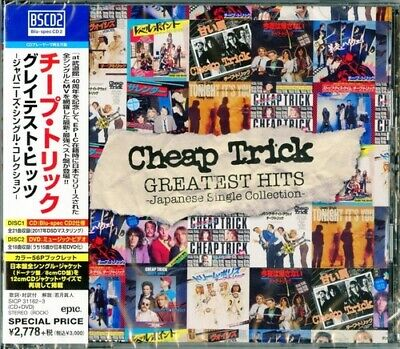 Cheap Trick - Greatest Hits: Japanese Single Collection [New CD] With DVD, Blu-S
