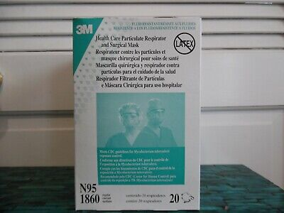 Of Boxes Respirator Case 3m 1860 N95 Particulate Health 12 Care