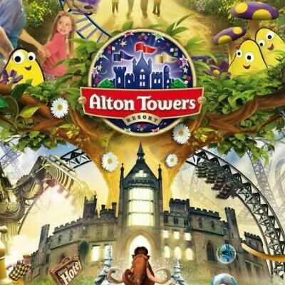 Alton Towers Tickets 4th Of July