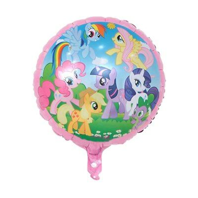 """5 x 17/"""" inch Cute My Little Pony Helium Foil Balloons Girls Party Decoration UK"""