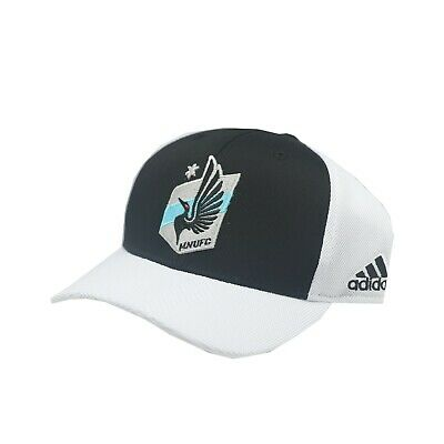 factory price 1ee8a 59ab7 Minnesota United FC MLS Adidas Youth Boys OSFM Adjustable Snap Back Mesh Hat  Cap