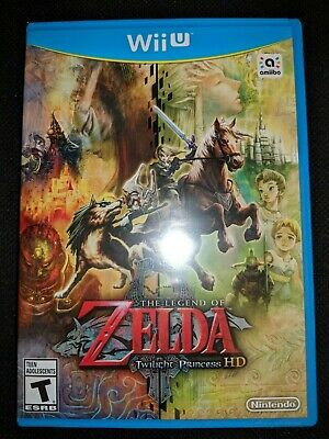 Nintendo Wii U Legend of Zelda: Twilight Princess HD Game |BRAND NEW SEALED WiiU