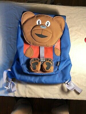 LL Bean Bear Toddler Backpack New Without tags NWT