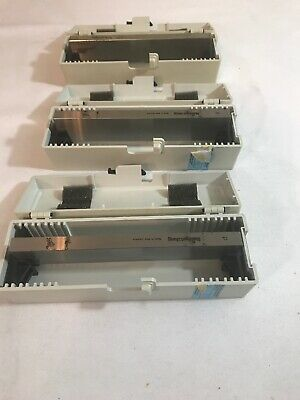 Reichert Jung Microtome Knife Blade 16 Cm/D Set Of 3 Used Germany